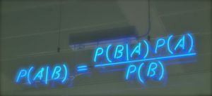 Formula for Baye's Theorem